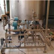 Установка для приготовления водки в потоке фото