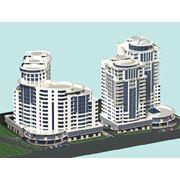 Проектирование жилых комплексов в Кишиневе. Проектирование комплекса Petrarilor фото