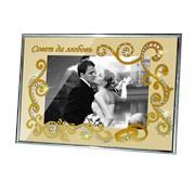 """Рамка для фото Swarovski """"Свадебная"""" Р-016st фото"""
