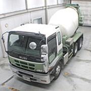 Автобетоносмеситель Isuzu Giga кузов CXZ51K4 г 2004 миксер грузоподъемность 9.92 тн пробег 218 тыс км фото