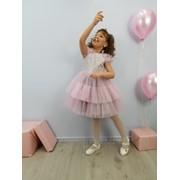 Детское нарядное платье - Мальвина фото