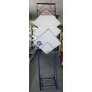 Стеллаж двухсторонний под потолочную плитку фото