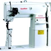 Швейная машина промышленная SUNSTAR КМ-817B с роликом фото