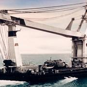 "Морской самоходный полноповоротный плавучий кран ""Богатырь"" 1520 фото"