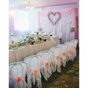 Оформление свадебного зала столовая Минского подшипникового завода фото