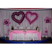 Оформление свадебного зала в Гомеле фото