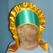 Кокошник овальный зеленый фото