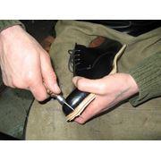 Раскрой и пошив заготовок верха обуви из давальческого сырья фото
