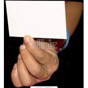 Изготовление визиток в Астане фото