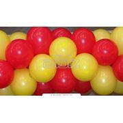 Оформление помещений воздушными шариками фото