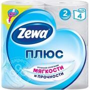Туалетная бумага Zewa Плюс в ассортименте фото
