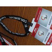 Бейджи и ланъярды для проведения конференций и круглых столов фото