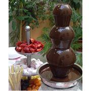 Аренда шоколадных фонтанов фото