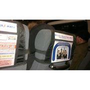 Реклама на подголовниках для кресел автобусов международных направлений фото