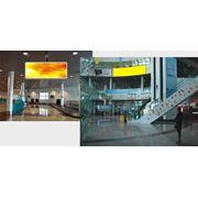 Размещение рекламы в аэропорту Астаны фото