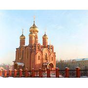 Золочение куполов крестов фото