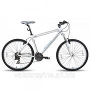 Велосипед 26'' PRIDE XC-26 бело-синий матовый 2015 SKD-63-79 фото