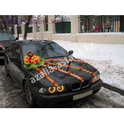 Украшение свадебных автомобилей в Астане фото