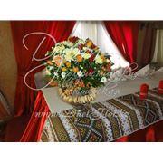 Услуги по свадебному оформлению русская свадьба фото