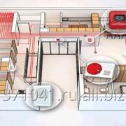 Установка системы пожарной сигнализации и пожаротушения фото