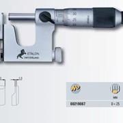 Микрометр ETALON Basic с двумя заменяемыми измерительными упорами фото