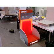 Производство промо материалов и торгового оборудования реклама в торговых центрах фото