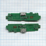 Разъем Micro USB для Lenovo S650 (плата с системным разъемом) фото