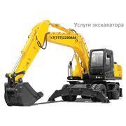 Услуги экскаватора в Алматы Услуги строительной спецтехники Малых ИП фото