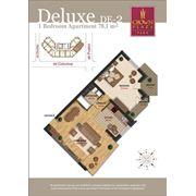 Продажа 2-х комнатных квартир deluxe в Crown Plaza Park фото