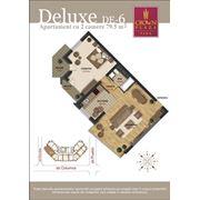 Продажа 2-х комнатных квартир делюкс фото