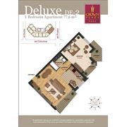 Продажа эксклюзивных 2-х комнатных квартир дуплекс в Crown Plaza Park фото