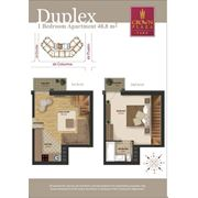 Продажа эксклюзивных 2-х комнатных квартир дуплекс фото