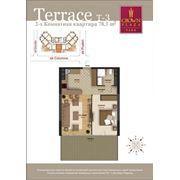 Продажа эксклюзивных 2-х комнатных квартир с террасой фото