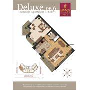 Шикарные 2-х комнатные квартиры deluxe в Crown Plaza Park фото
