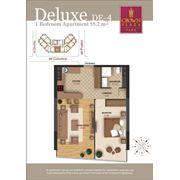 Продажа эксклюзивных 2-х комнатных квартир делюкс в Crown Plaza Park фото