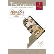 Продажа элитных 2-х комнатных квартир с террасой фото