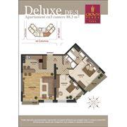 Продажа элитных квартир. 2-х комнатные квартиры делюкс в Crown Plaza Park фото