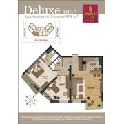 Шикарные квартиры в Crown Plaza Park. 3-х комнатные квартиры deluxe фото