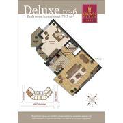 Продажа элитных квартир. 2-х комнатные квартиры делюкс фото