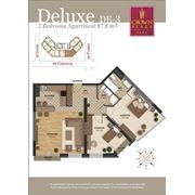 Продажа эксклюзивных 3-х комнатных квартир делюкс в центре Кишинева фото