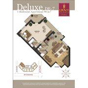 Эксклюзивное жилье. 2-х комнатные квартиры deluxe в Crown Plaza Park фото