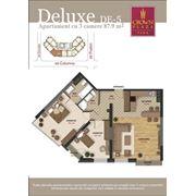 Элитные 3-х комнатные квартиры deluxe в Crown Plaza Park фото