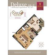 Эксклюзивные квартиры. 2-х комнатные квартиры делюкс фото