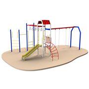 Изготовление металлических детских площадок Астана Детские площадки металлические на заказ Астана фото