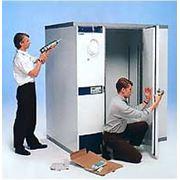 Монтаж холодильной камеры фото