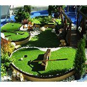 Устройство площадок для мини-гольфа фото