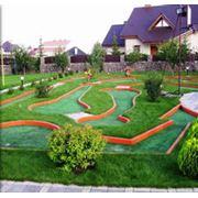 Площадки для мини-гольфа фото