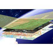 Подготовка картографического материала векторизация фото