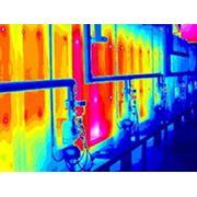 Тепловизионное обследование обмуровки котлов и теплоизоляции печей и др.