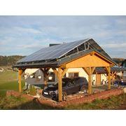 Монтаж солнечных панелей фото